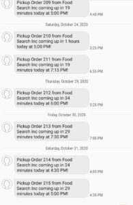 sms ordering